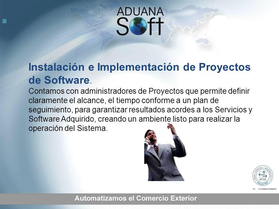 Instalación e Implementación de Proyectos de Software