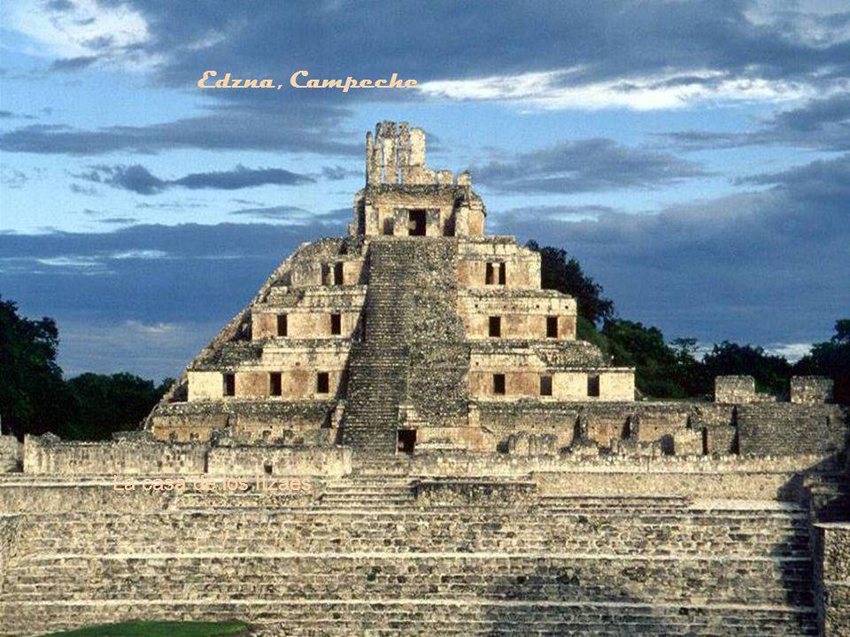 Edzna, Campeche La casa de los Itzaes
