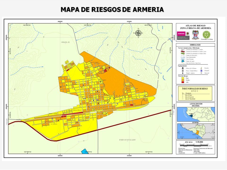 MAPA DE RIESGOS DE ARMERIA