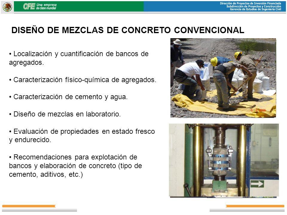 DISEÑO DE MEZCLAS DE CONCRETO CONVENCIONAL
