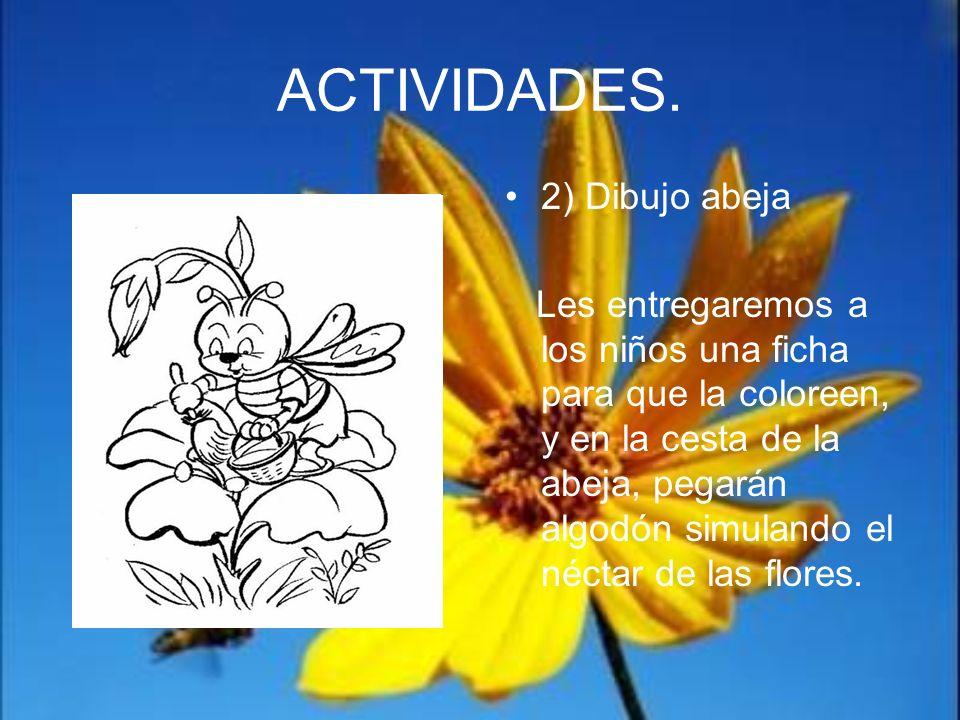 ACTIVIDADES. 2) Dibujo abeja
