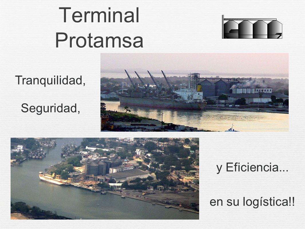 Terminal Protamsa Tranquilidad, Seguridad, y Eficiencia...
