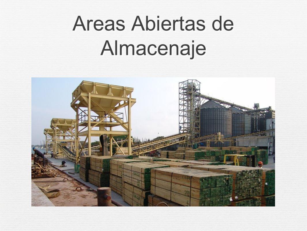 Areas Abiertas de Almacenaje