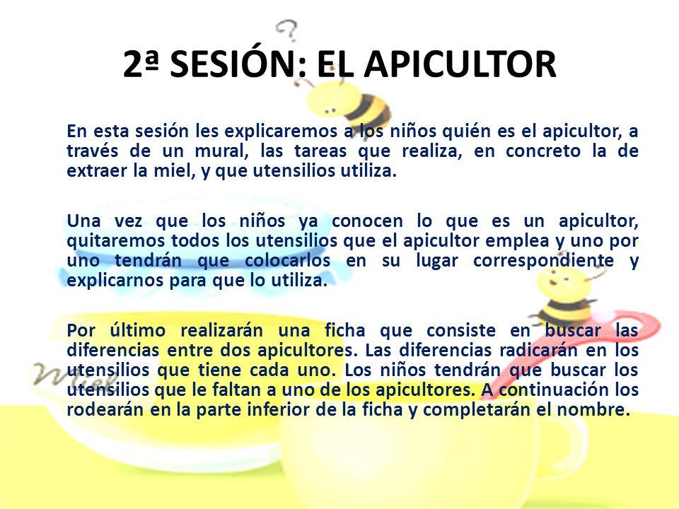 2ª SESIÓN: EL APICULTOR