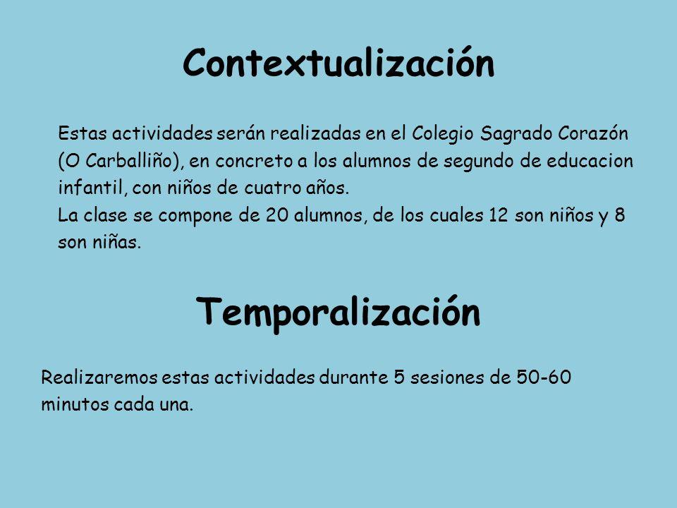 Contextualización Temporalización