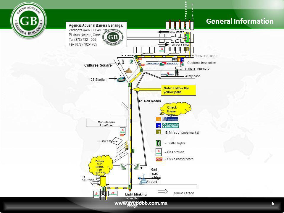 General Information www.grupobb.com.mx 6 6