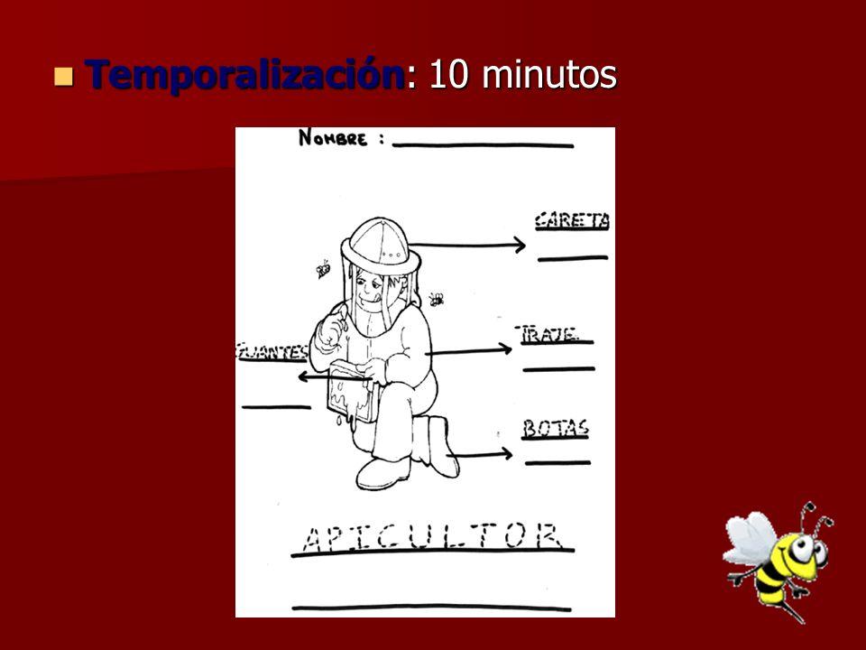 Temporalización: 10 minutos