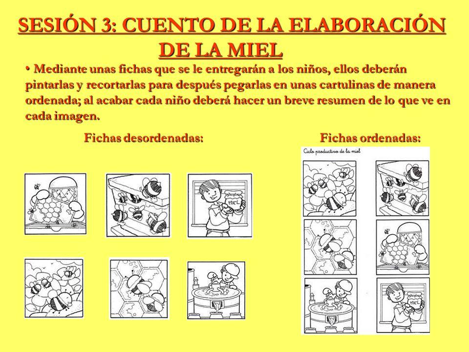 SESIÓN 3: CUENTO DE LA ELABORACIÓN DE LA MIEL
