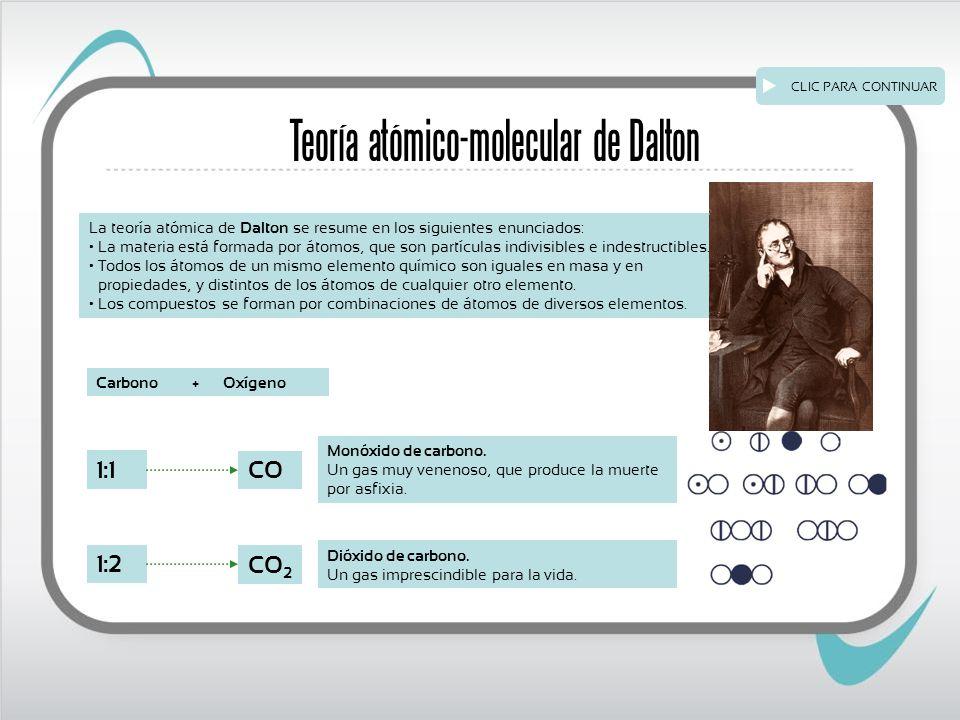 Teoría atómico-molecular de Dalton