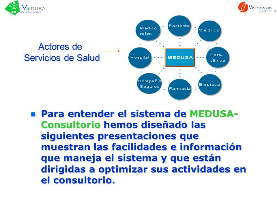Actores de Servicios de Salud.