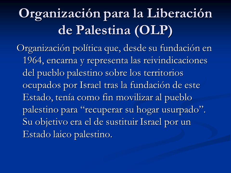 Organización para la Liberación de Palestina (OLP)