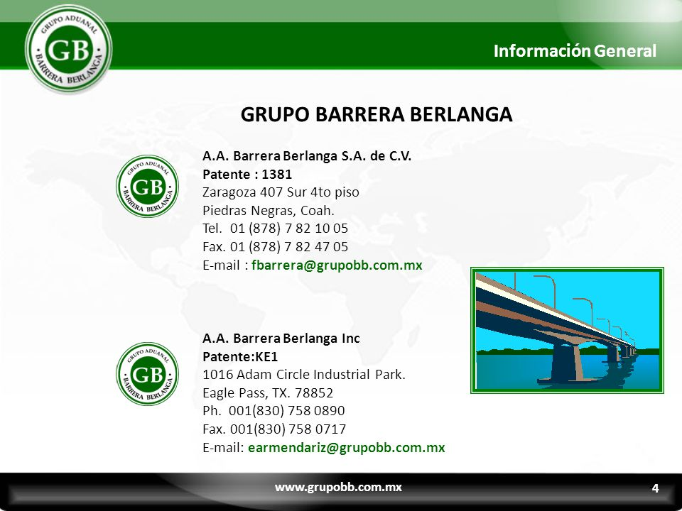 GRUPO BARRERA BERLANGA