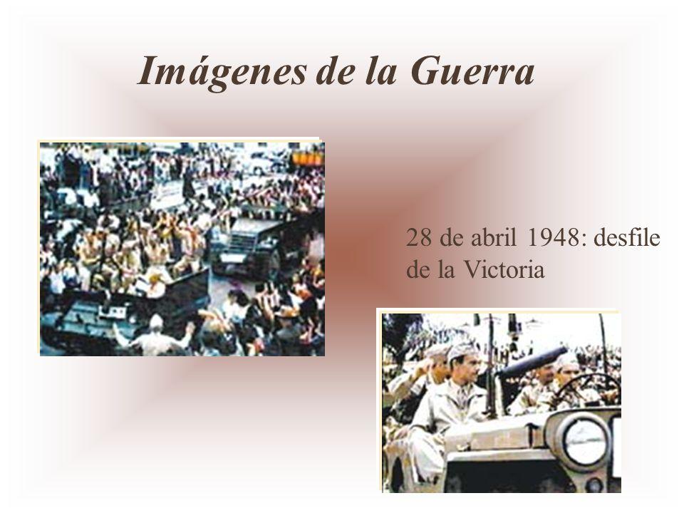 Imágenes de la Guerra 28 de abril 1948: desfile de la Victoria
