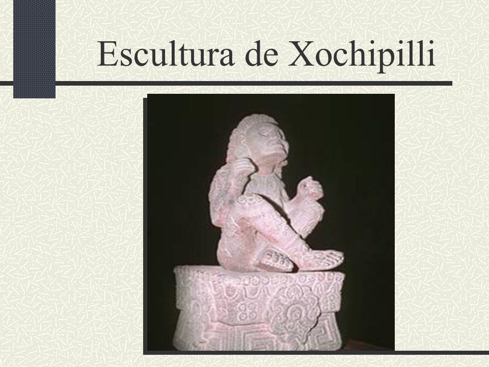 Escultura de Xochipilli