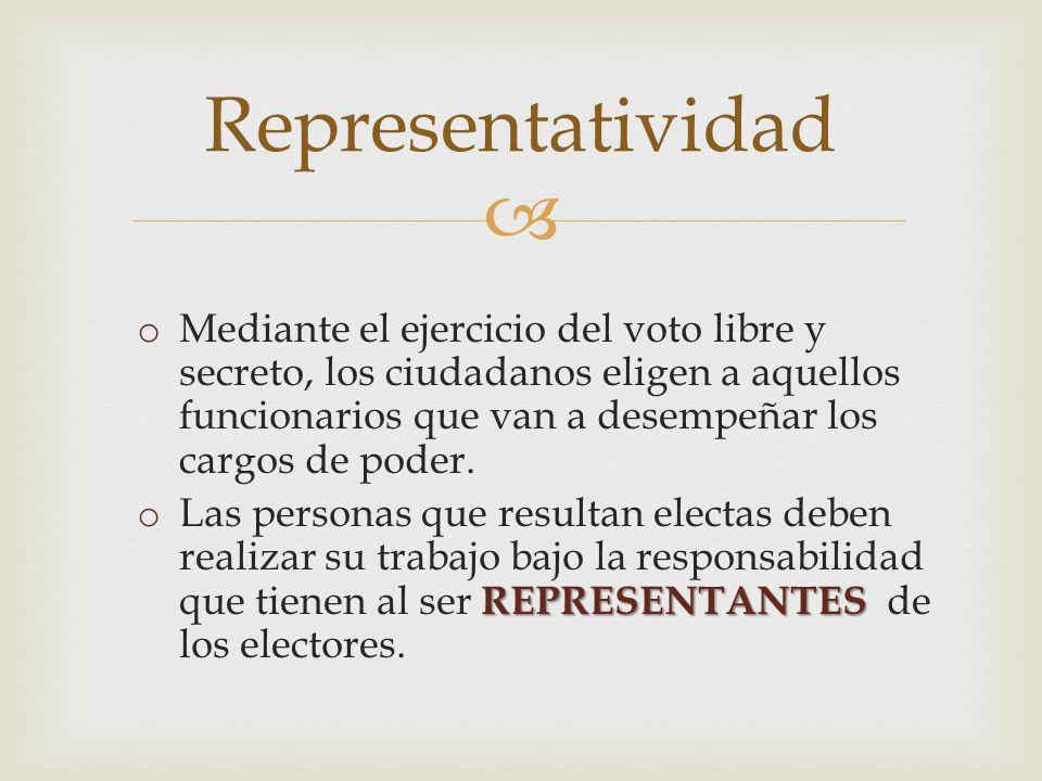 Representatividad