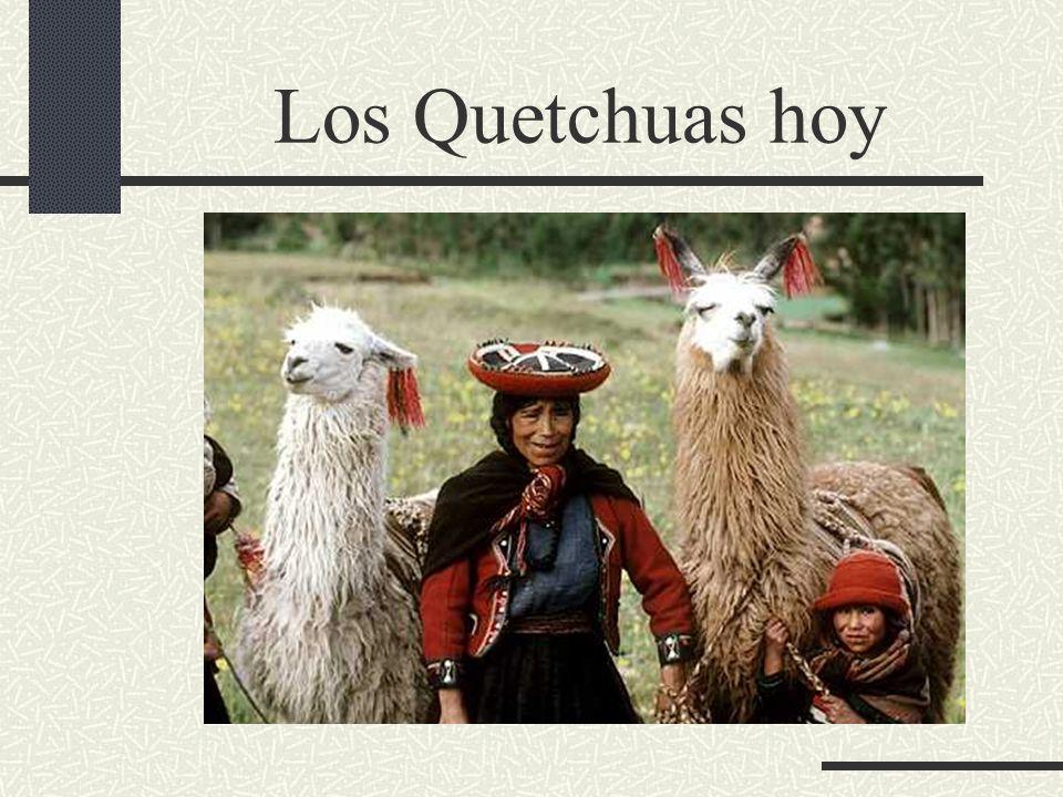 Los Quetchuas hoy