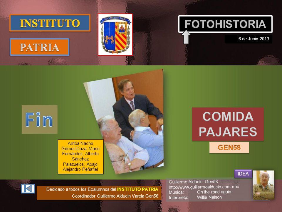 COMIDA PAJARES INSTITUTO FOTOHISTORIA PATRIA GEN58 IDEA