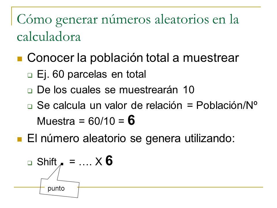 Cómo generar números aleatorios en la calculadora