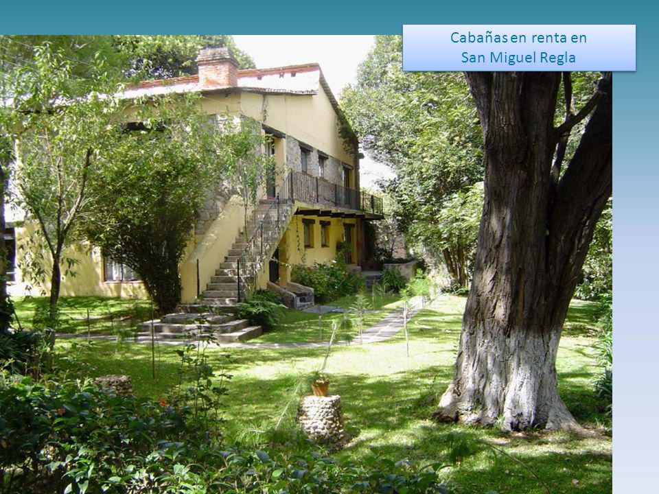Cabañas en renta en San Miguel Regla