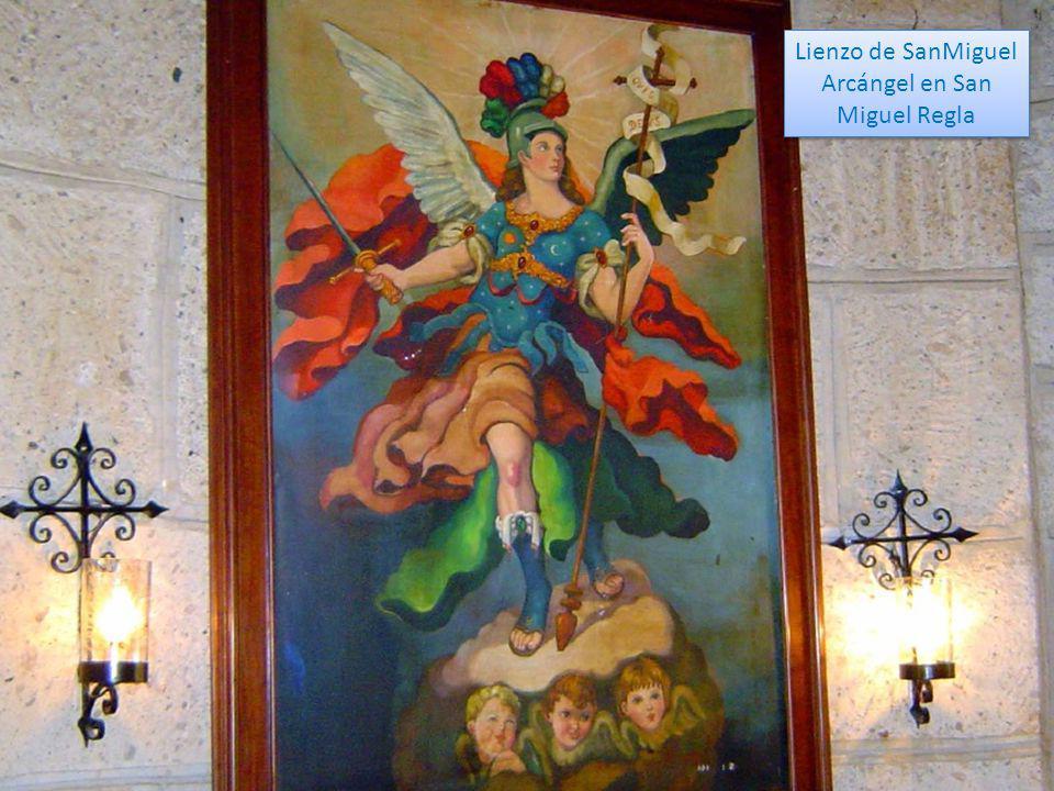 Lienzo de SanMiguel Arcángel en San Miguel Regla