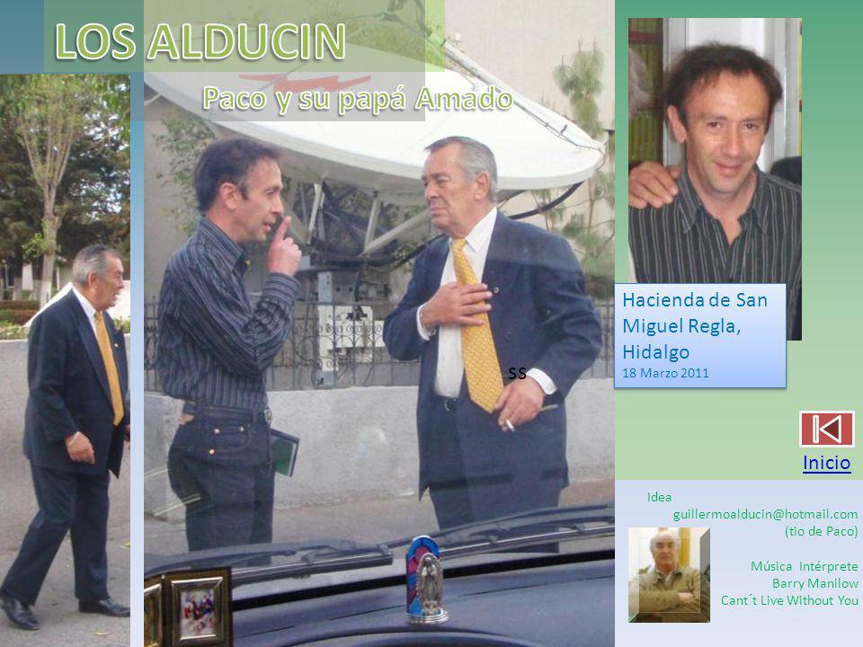 LOS ALDUCIN Paco y su papá Amado ss