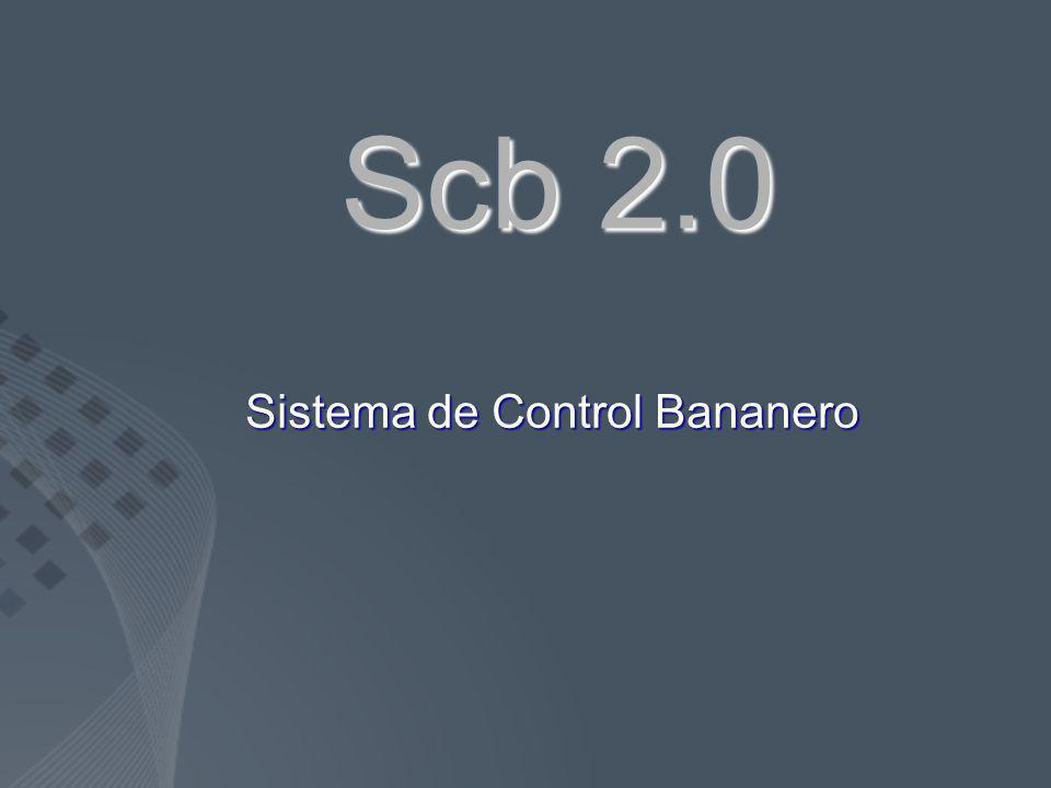 Sistema de Control Bananero