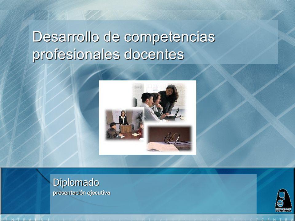 Desarrollo de competencias profesionales docentes