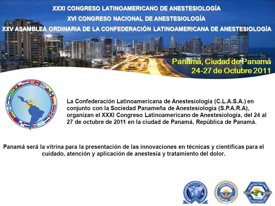 Panamá, Ciudad de Panamá 24-27 de Octubre 2011