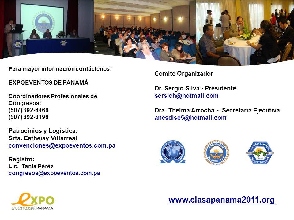 www.clasapanama2011.org Comité Organizador