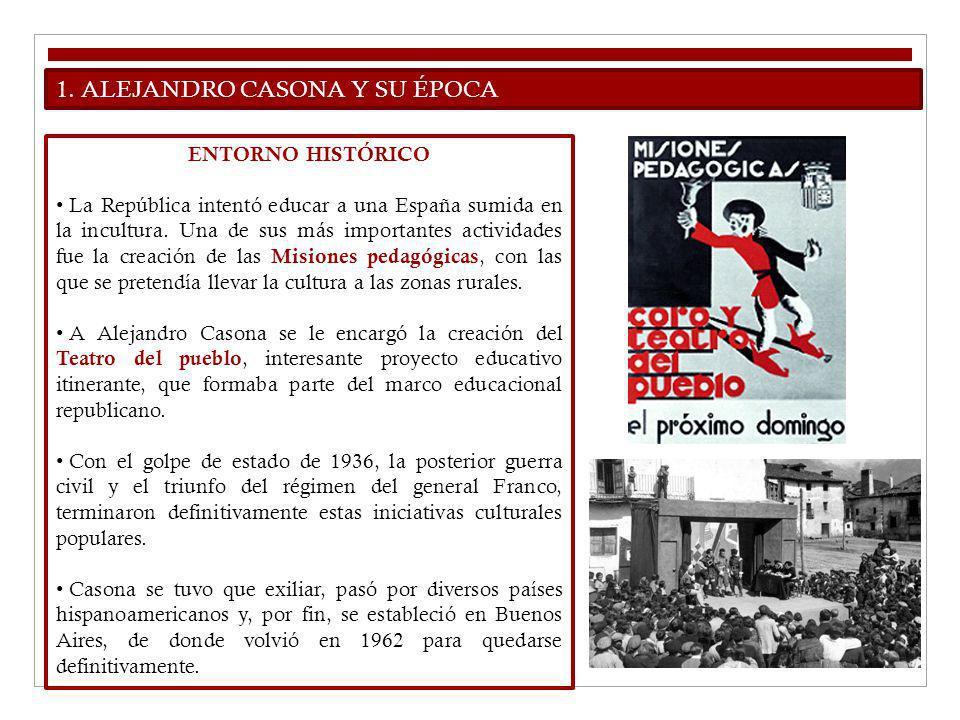 1. ALEJANDRO CASONA Y SU ÉPOCA
