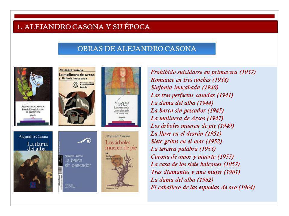 OBRAS DE ALEJANDRO CASONA