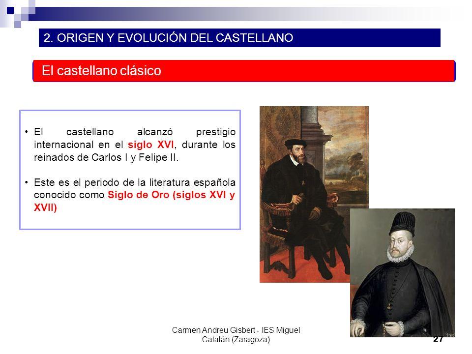 Carmen Andreu Gisbert - IES Miguel Catalán (Zaragoza)