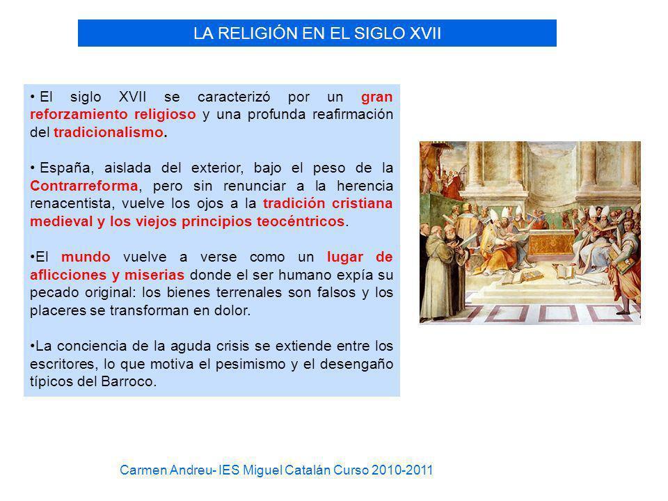LA RELIGIÓN EN EL SIGLO XVII