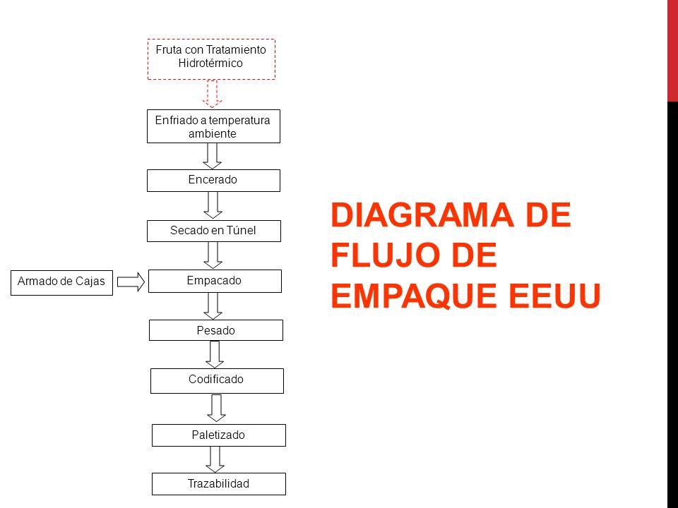 DIAGRAMA DE FLUJO DE EMPAQUE EEUU