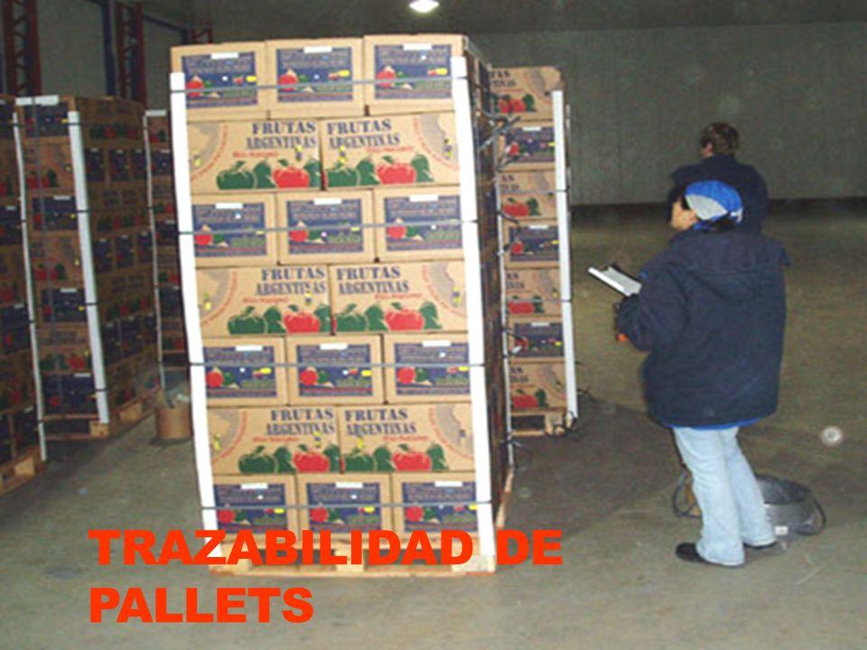 TRAZABILIDAD DE PALLETS