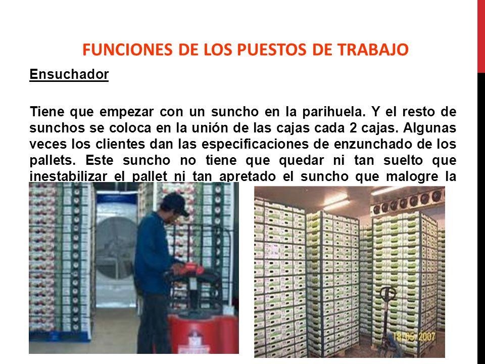 FUNCIONES DE LOS PUESTOS DE TRABAJO