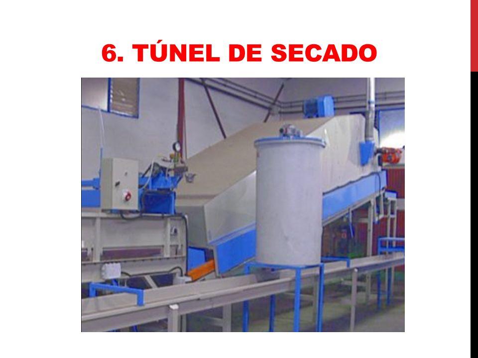 6. Túnel de secado