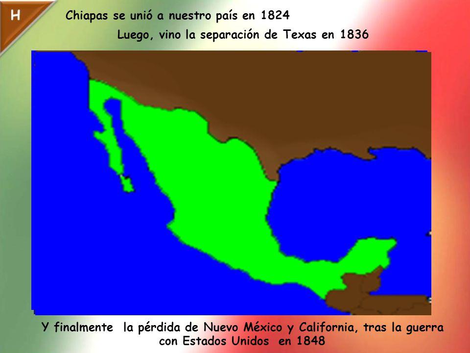 Chiapas se unió a nuestro país en 1824