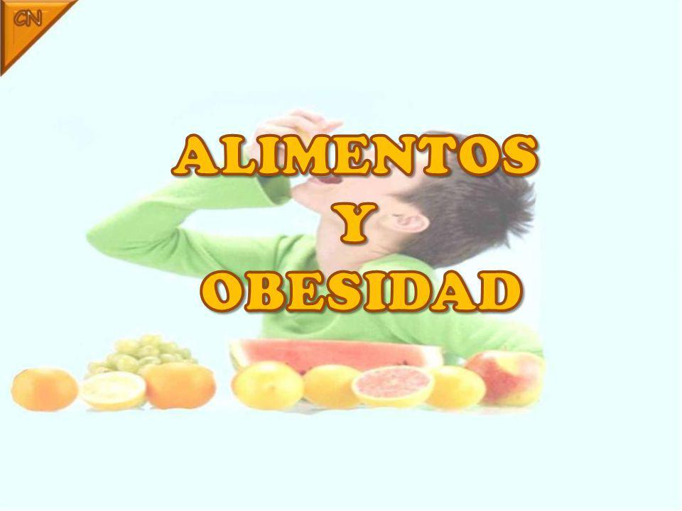 ALIMENTOS Y OBESIDAD
