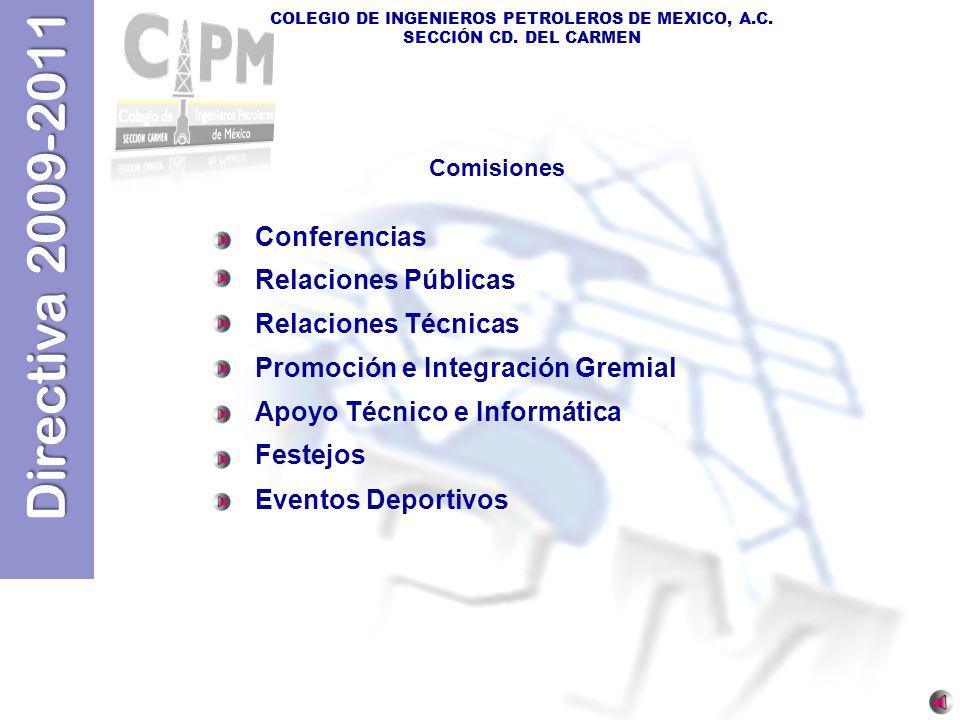 Promoción e Integración Gremial Apoyo Técnico e Informática Festejos