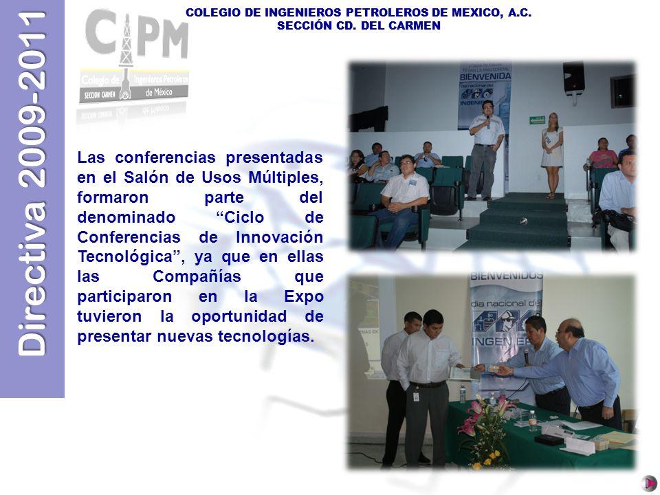 COLEGIO DE INGENIEROS PETROLEROS DE MEXICO, A.C.