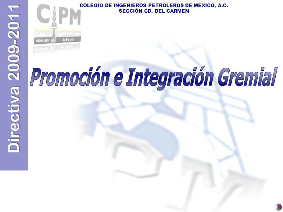 Promoción e Integración Gremial