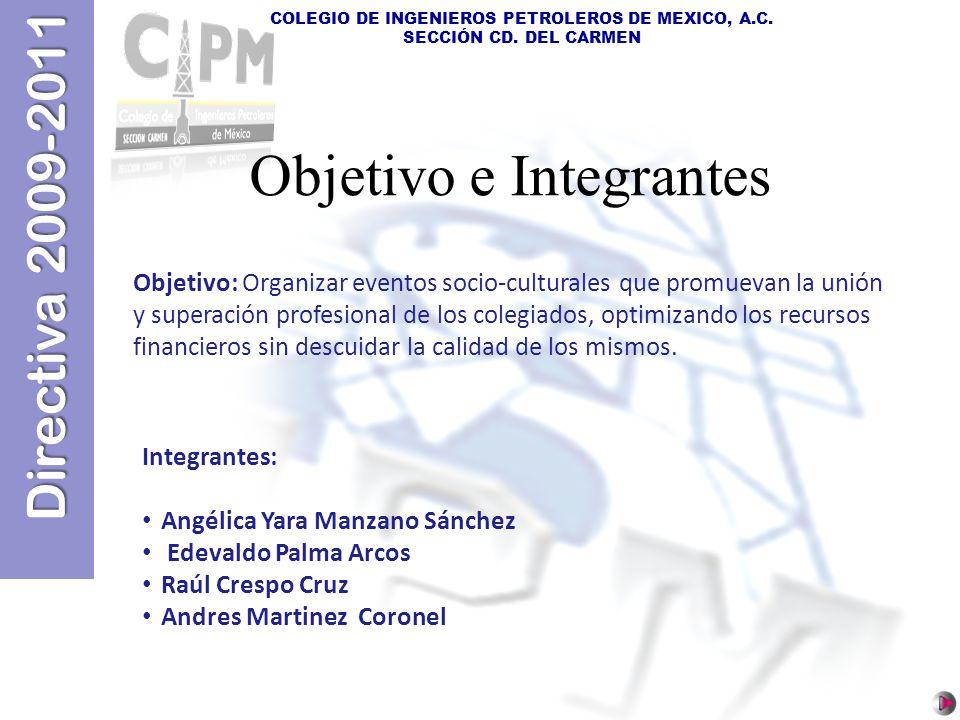 Objetivo e Integrantes