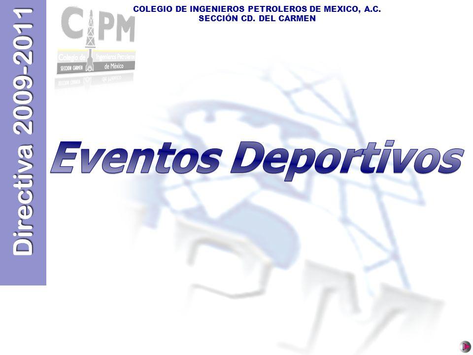 Directiva 2009-2011 Eventos Deportivos