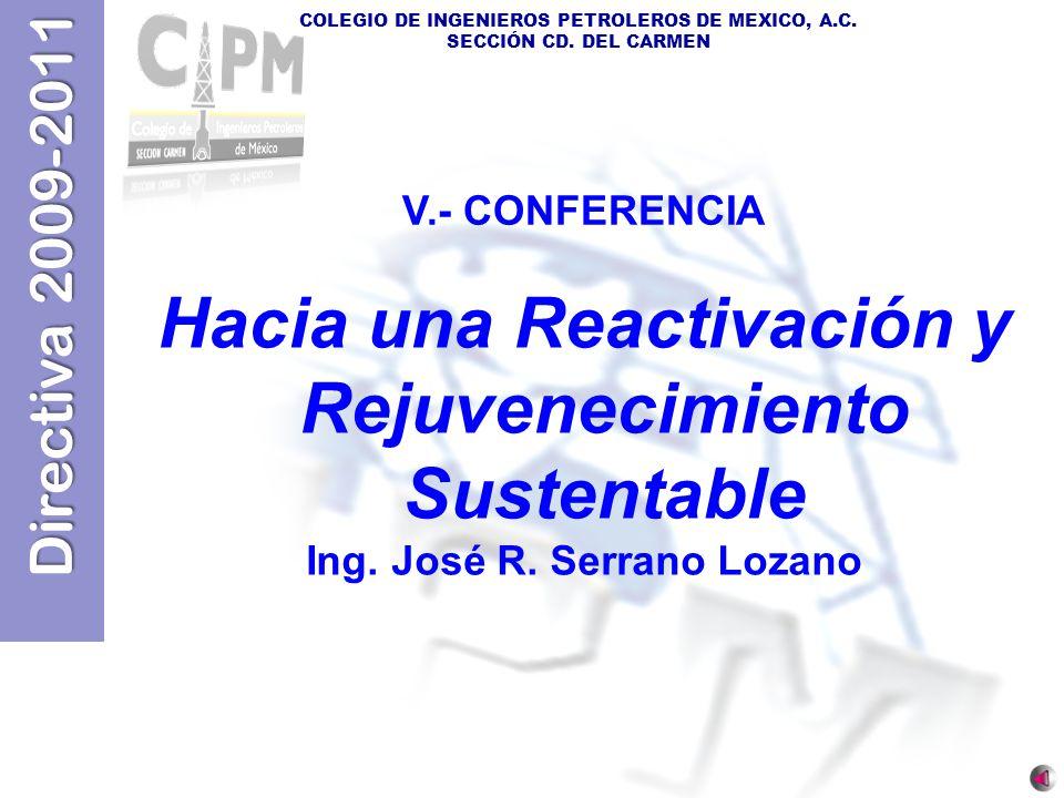Hacia una Reactivación y Rejuvenecimiento Sustentable