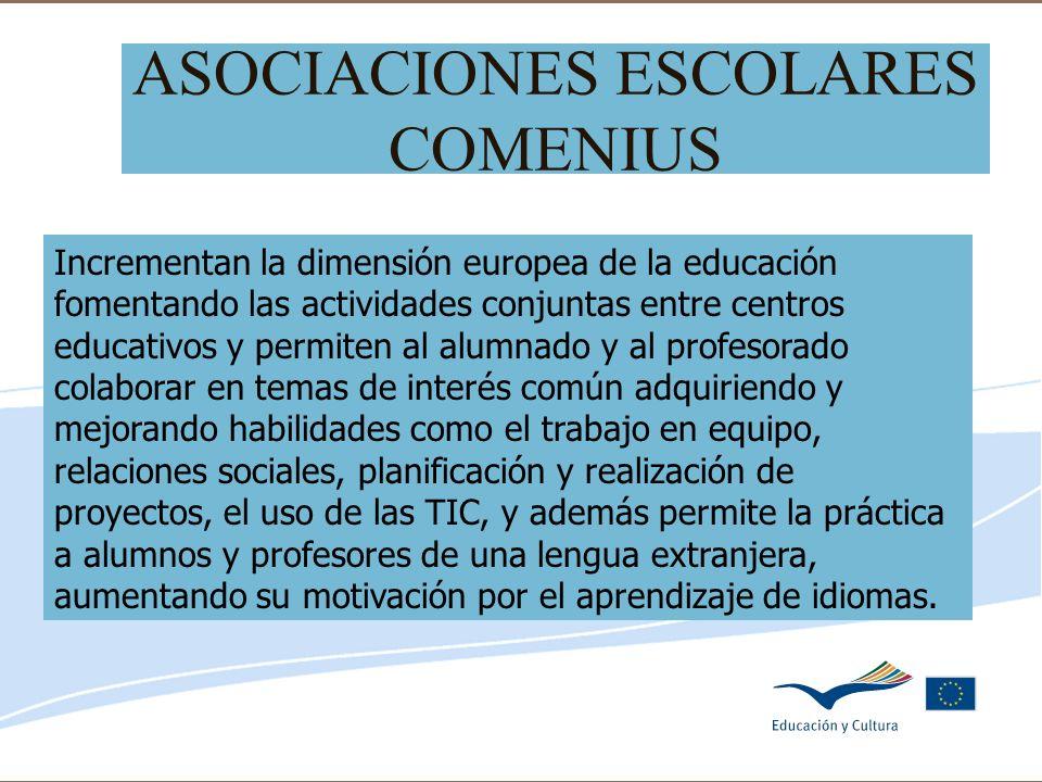 ASOCIACIONES ESCOLARES COMENIUS