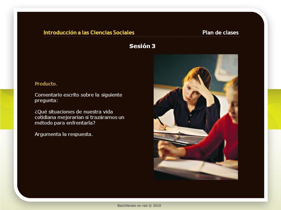 Introducción a las Ciencias Sociales Plan de clases