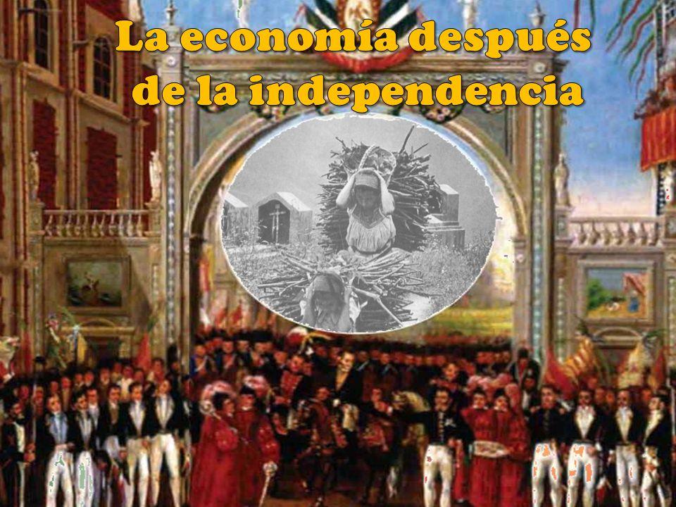 La economía después de la independencia