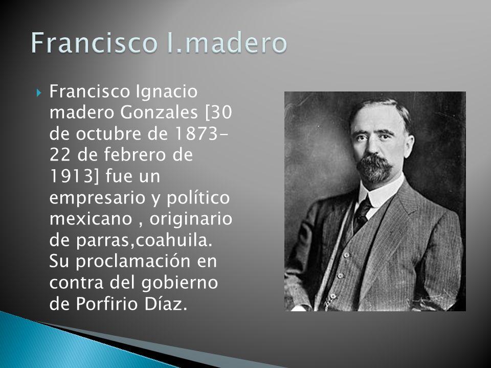 Francisco I.madero
