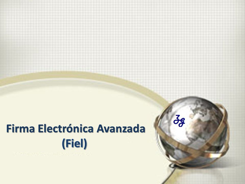 Firma Electrónica Avanzada